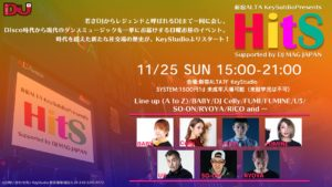 新宿アルタKeyStudio presents HitS supported by DJ MAG JAPAN @ 新宿アルタKey Studio | 新宿区 | 東京都 | 日本