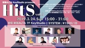 新宿アルタKeyStudio presents HitS vol.3 @ 新宿アルタKey Studio | 新宿区 | 東京都 | 日本